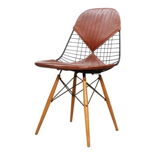 Early Eames Dkw-2 With Leather Bikini Cover For Sale