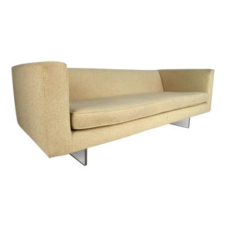 Modern Harvey Probber Style Sofa on Lucite Base