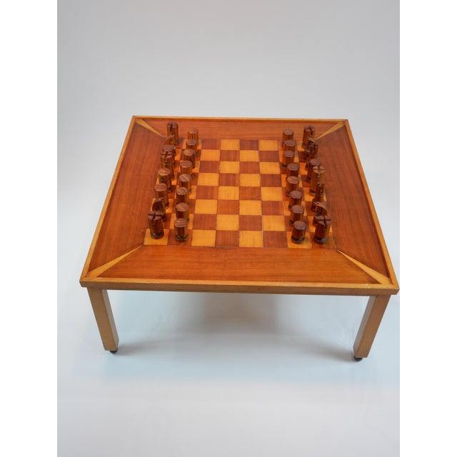 1950s Vintage Mid-Century Modern Chess / Game Table by Lane For Sale - Image 5 of 11