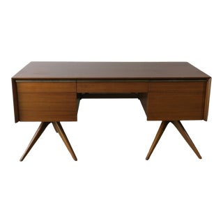 1955 Mid Century Modern Vladimir Kagan for Grosfeld House Desk For Sale