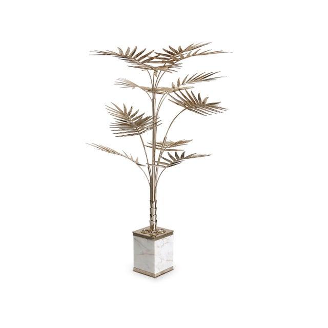 Mid-Century Modern Covet Paris Ivete Palmtree Floor Lamp For Sale - Image 3 of 7