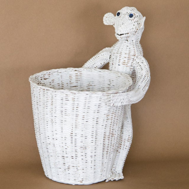 Mario Lopez Torres Wicker Monkey Basket For Sale - Image 11 of 11
