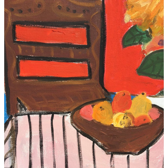 Sean Kratzert 'Still Life' Oil and Acrylic Painting by Sean Kratzert For Sale - Image 4 of 8