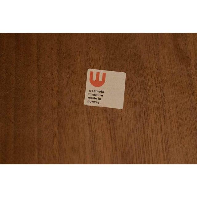 Wood 1960s Mid-Century Modern Westnofa Teak Side Table For Sale - Image 7 of 12
