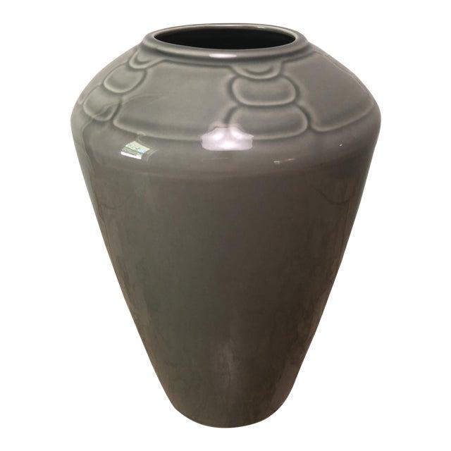 Arita Sculptura Grey Vase For Sale