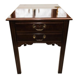 Cherry Side Table by Drexel
