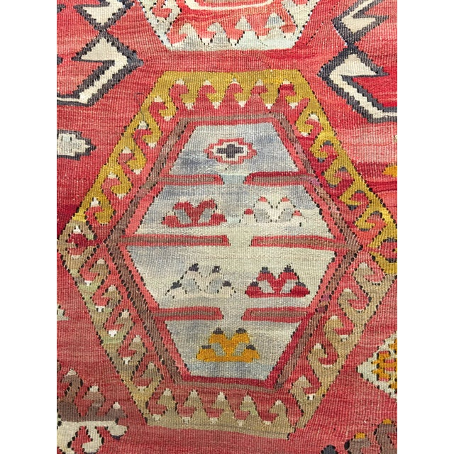 "Bellwether Rugs Vintage Turkish Kilim Rug - 8'3"" x 10'8"" - Image 7 of 11"