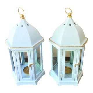 Vintage Decorative Lanterns - a Pair For Sale