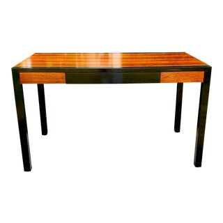 Mid-Century Modern Harvey Probber Mahogany & Rosewood Writing Desk For Sale