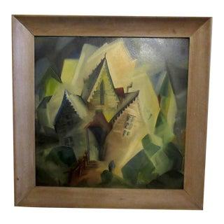 Framed Original Oil Painting For Sale