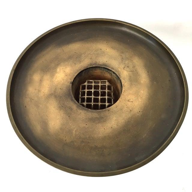 Japanese Usabata Bronze Flower Vase - Image 4 of 6