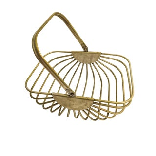 Vintage Heavy Metal Wire Basket Preview
