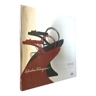 "21st Century Vintage Oversized Ferragamo Book ""Evolving Legend"" For Sale"