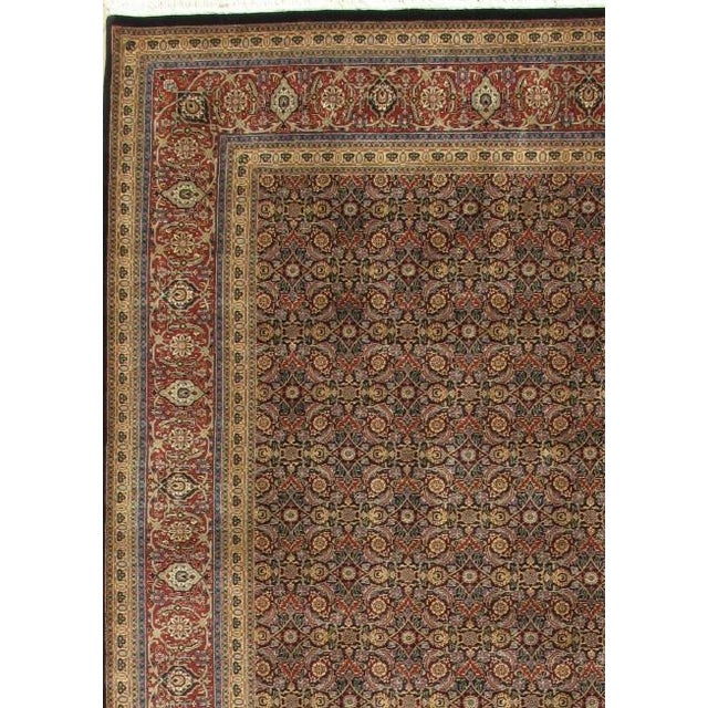 Tabriz Design rugs are distinguished by their excellent weave and by their remarkable adherence to the classical...
