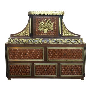 French Style Louis XV Cabinet For Sale