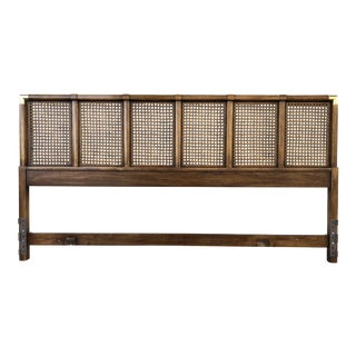 Drexel Herritage Wood & Caning Eastern King Size Headboard