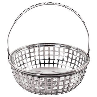 Basket With Glass Liner For Sale