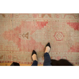 """Vintage Distressed Oushak Rug Runner - 3'5"""" X 9'1"""" Preview"""