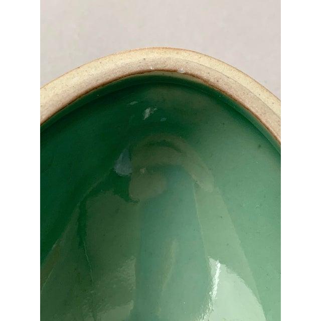 Green 1970s Danish Modern Dansk Large and Medium Jade Green Stoneware Egg Boxes - Set of 2 For Sale - Image 8 of 13