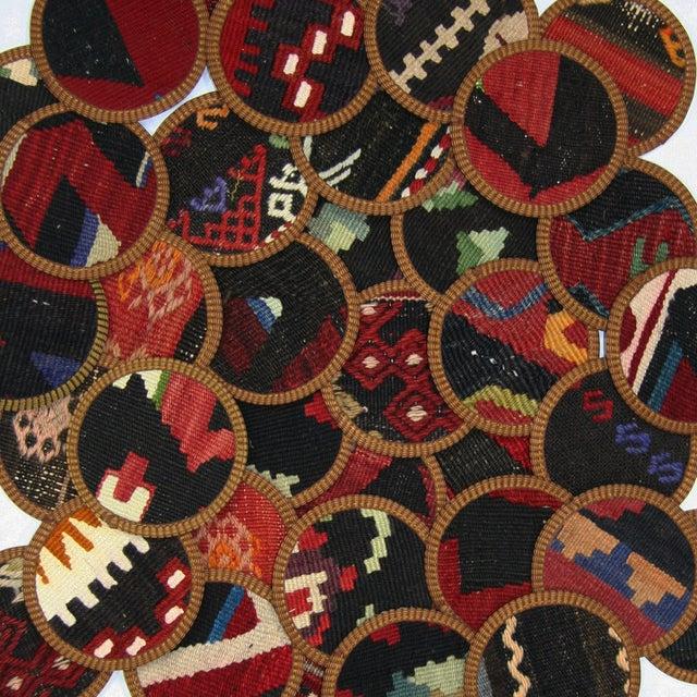 Turkish Kilim Coasters, Sivas - Set of Four - Image 2 of 2