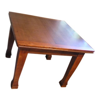 19th Century Traditional Expandable Dining Table For Sale