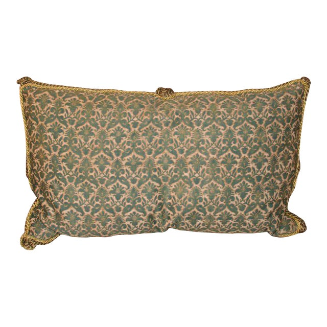 Antique Fortuny Pillow For Sale