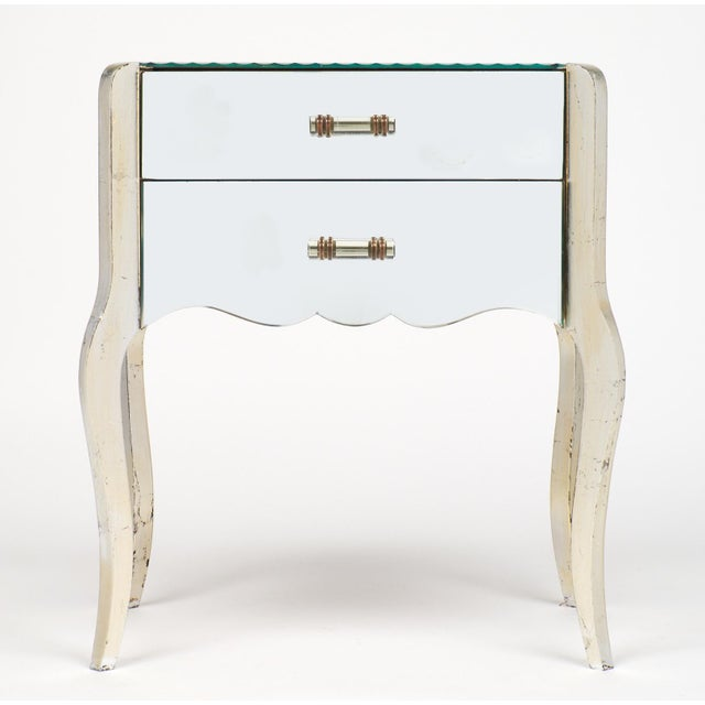 French Art Deco Mirrored Side Tables - A Pair - Image 2 of 10