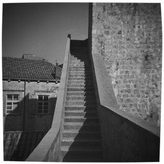 """Vertical"" Black & White Vintage Film Camera Photograph"