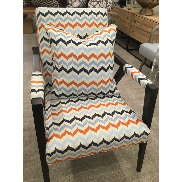 Mid-Century Modern Kravet Mid-Century Modern Tempest Chairs - a Pair For Sale - Image 3 of 8