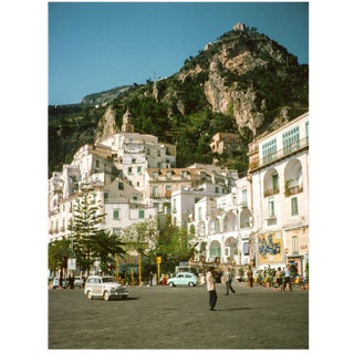 Vintage 1960s Italian Amalfi Coast II Photograph Print For Sale