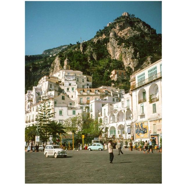 Vintage 1960s Italian Amalfi Coast II Photograph Print For Sale