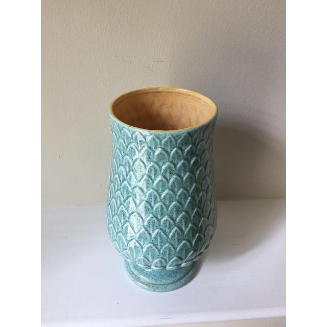 Modern Red Wing Mid Century Vase For Sale - Image 3 of 5