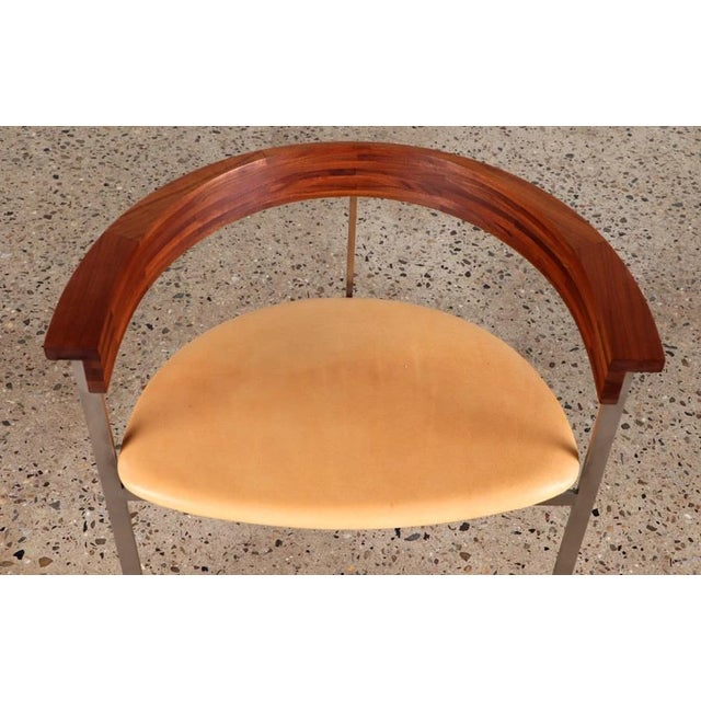 Brown 1970s Poul Kjaerholm Pk11 Side Chairs - a Pair For Sale - Image 8 of 10