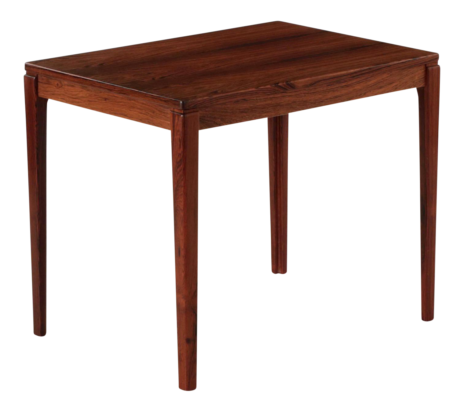 Swedish Mid Century Modern Rosewood Side Table By Ulferts Møbler For Sale
