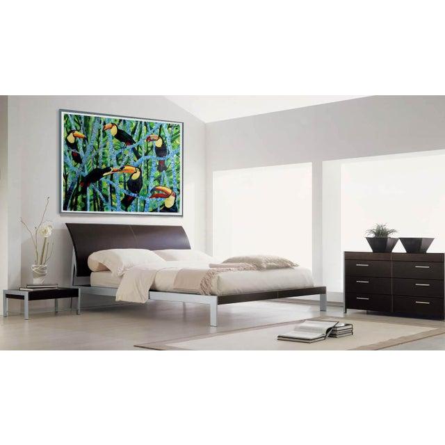 Ramphastos Fantasia Acrylic Painting - Image 6 of 10