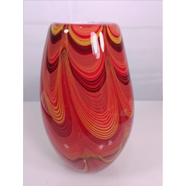 2008 Murano Art Glass Vase - Image 5 of 11