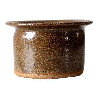 Vintage Small Studio Pottery Vessel For Sale