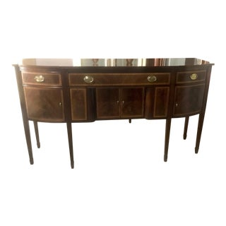 Ethan Allen Large Mahogany Sideboard For Sale