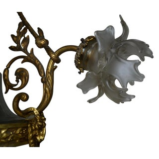 Antique Renaissance Style Gilt-Bronze and Patinated-Bronze Chandelier Preview