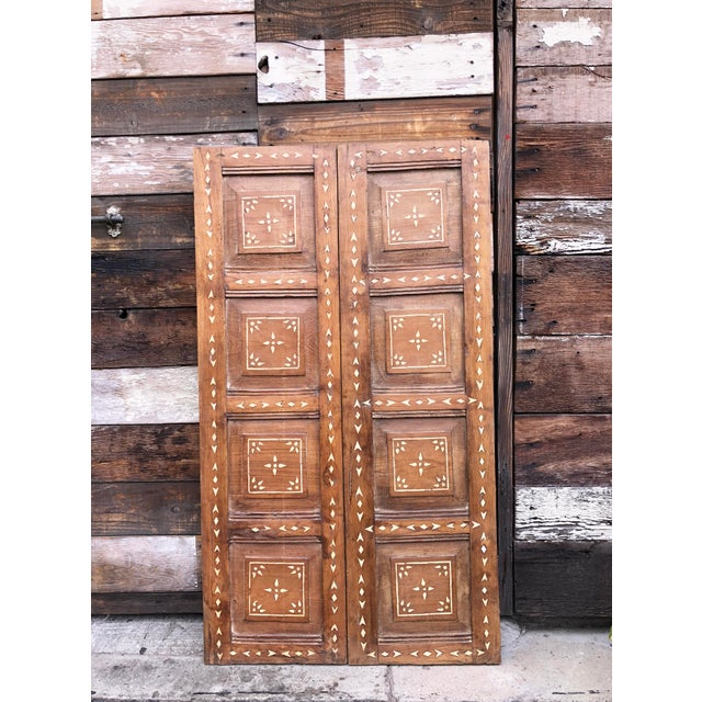 Anglo-Indian Antique Bone Inlay Door For Sale - Image 3 of 8