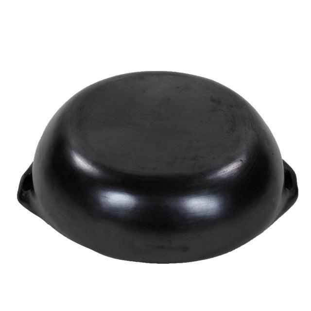 "Black Colombian Black Clay ""La Chamba"" Lidded Cassarole For Sale - Image 8 of 9"