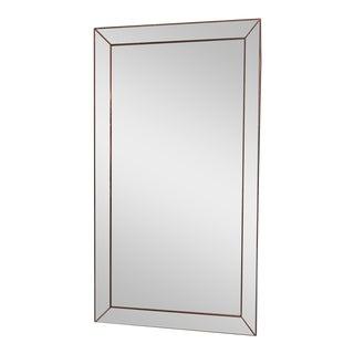 Restoration Hardware Venetian Beaded Leaner Mirror