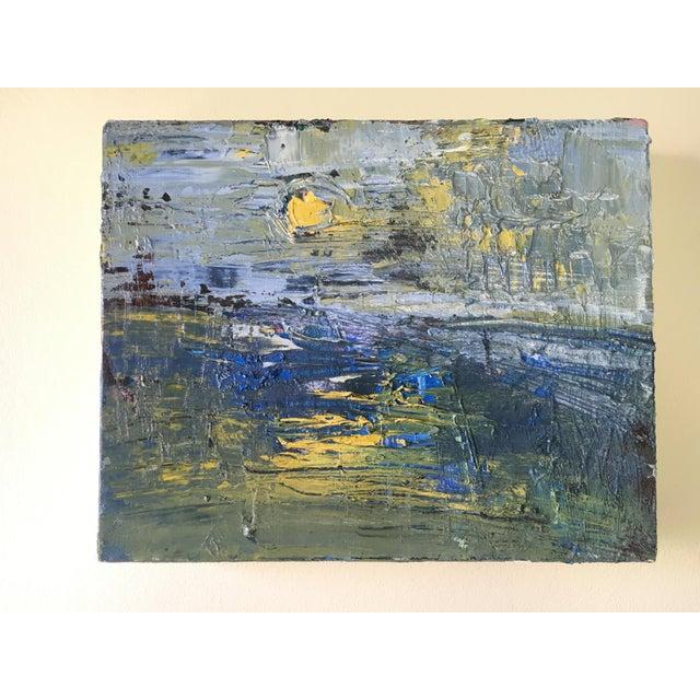 Jenny Vorwaller Sunset Oil Painting - Image 2 of 3
