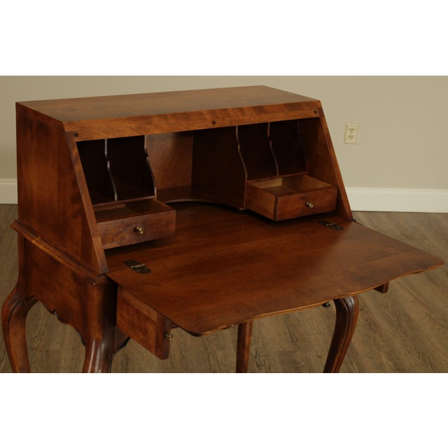 Ethan Allen Country French Slant Front Writing Desk For Sale - Image 12 of 13