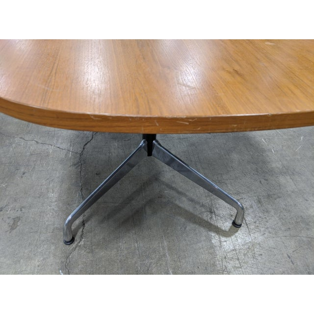 Mid-Century Modern Eames Table/Writing Desk For Sale In Chicago - Image 6 of 8