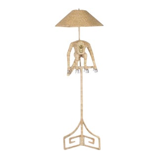Mario Torres Monkey Floor Lamp For Sale