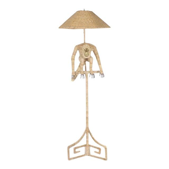 Mario Torres Monkey Floor Lamp For Sale