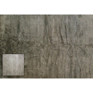 Stark Studio Rugs Contemporary New Oriental Indo Tibetan 50% Wool/50% Viscose Rug - 6′1″ × 9′ For Sale