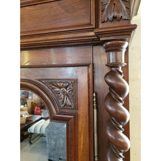 Louis XIII Period Walnut Armoire For Sale - Image 10 of 13