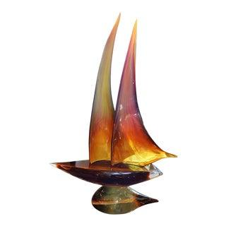 "Dino Rosin - 'Sailboat"" by Rosin For Sale"
